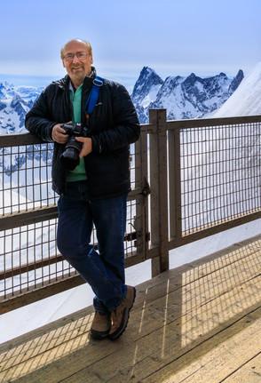Dave at the peak