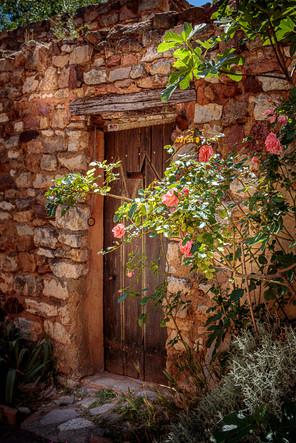 Door in Roussillon