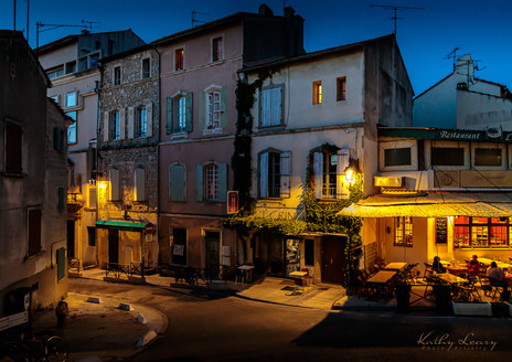 Evening in Arles