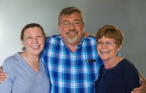 Pat, Mike & Kathy