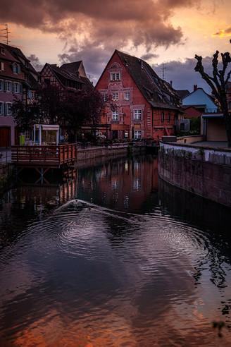 Colmar sunset