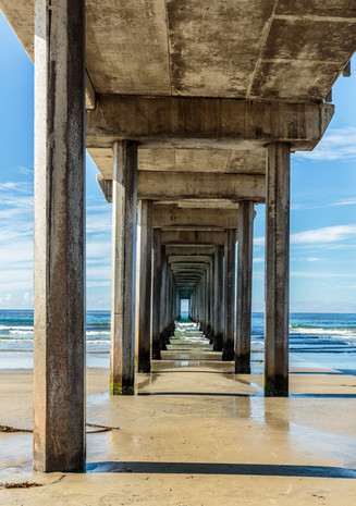 Pier on the Pacific