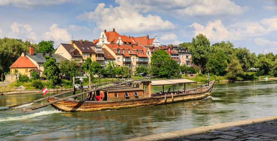 Antique Wooden Boat