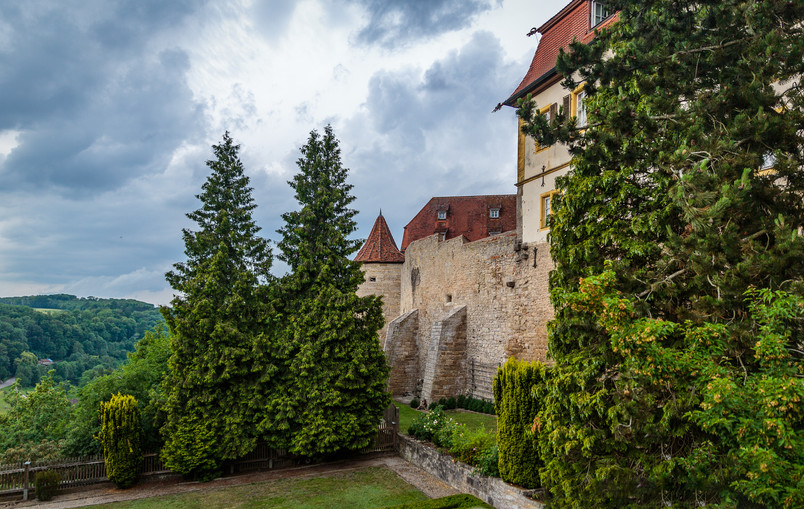 Outside Rothenburg