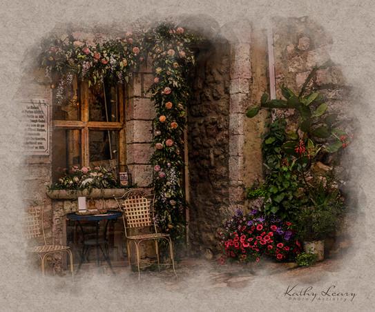 Window in St Paul de Vence