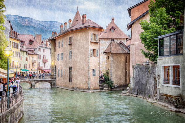 Canal in Annecy