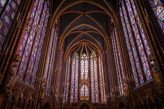 Stained Glass in St Chapelle