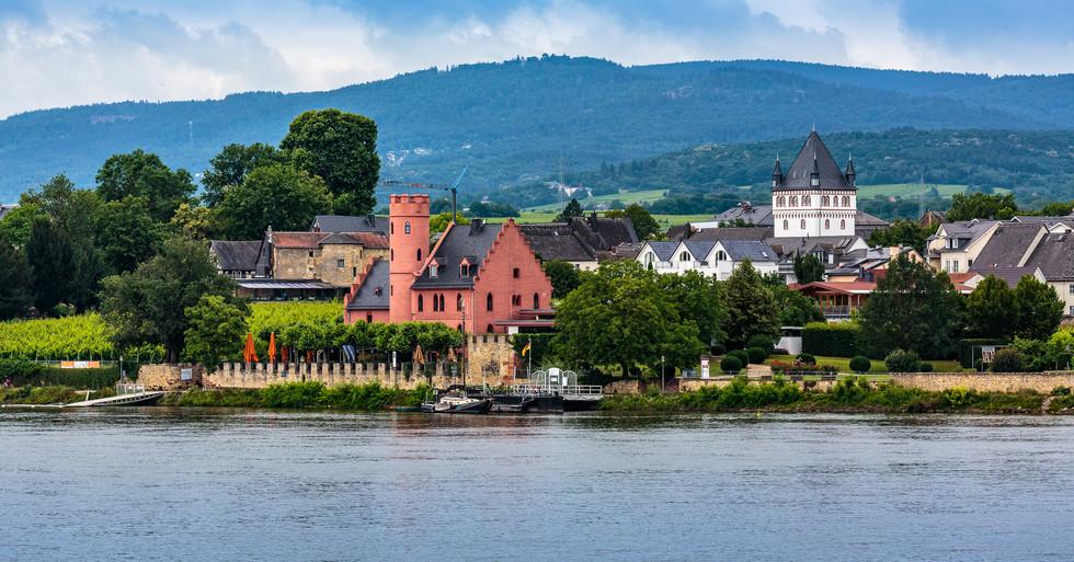 Village on the Rhine
