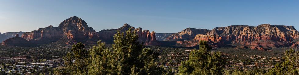 Golden hour in Sedona Arizona