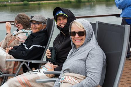 Sailing down the Rhine