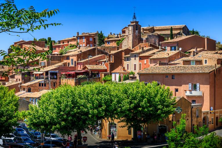 Roussillon's hilltop