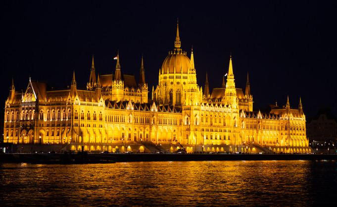 Parliament at Night