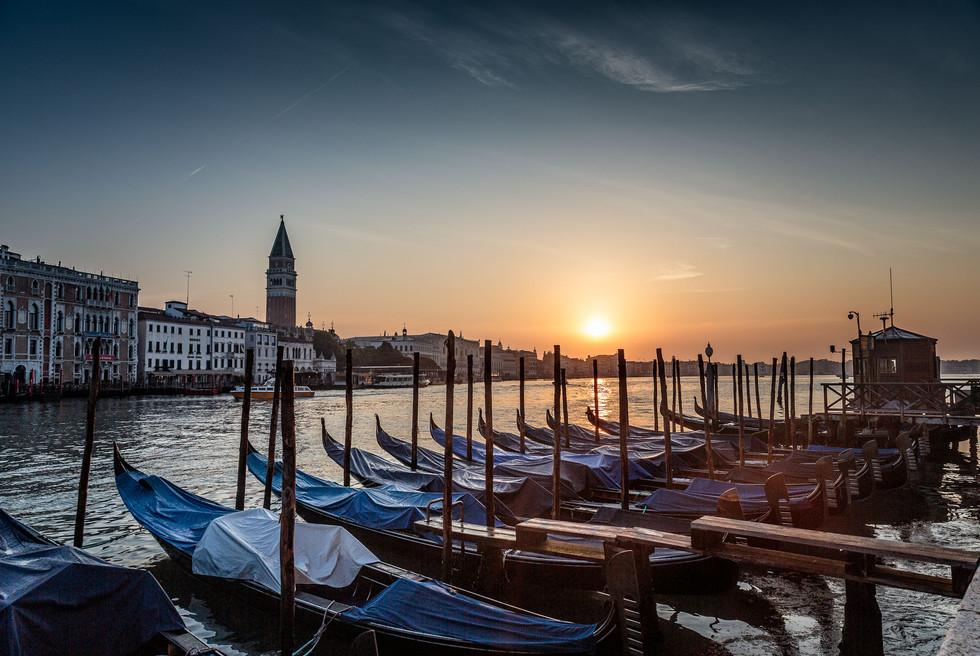 Dawn in Venice