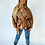 Thumbnail: Brown Faux Leather Jacket