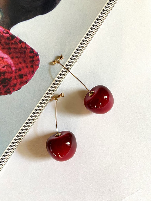 The Cherry Earrings