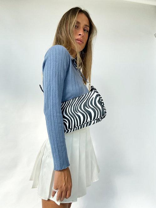 The Simple Chic Bag // Zebra