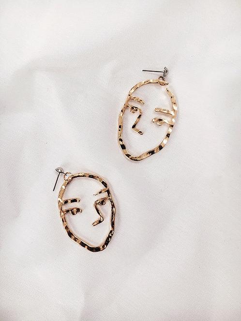 The Swayze Earrings // Gold