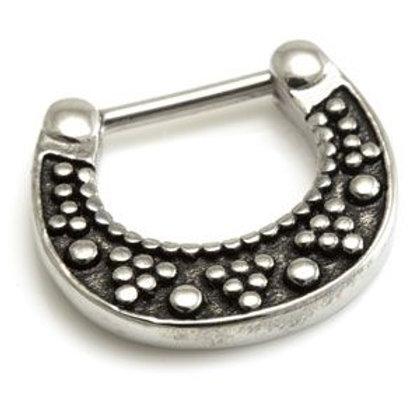 Cast Steel Patterned Septum Ring