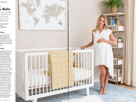 Boston Magazine: Wayfair Nursery Roomover w/ Jenny Johnson
