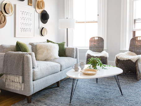 Safavieh Small Space Living Room Makeover