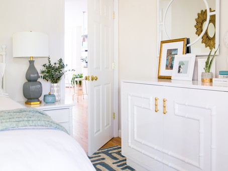 Safavieh Small Space Bedroom Makeover