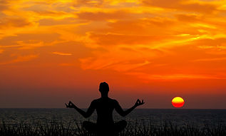 meditating-sunset-meditation-yoga-nature