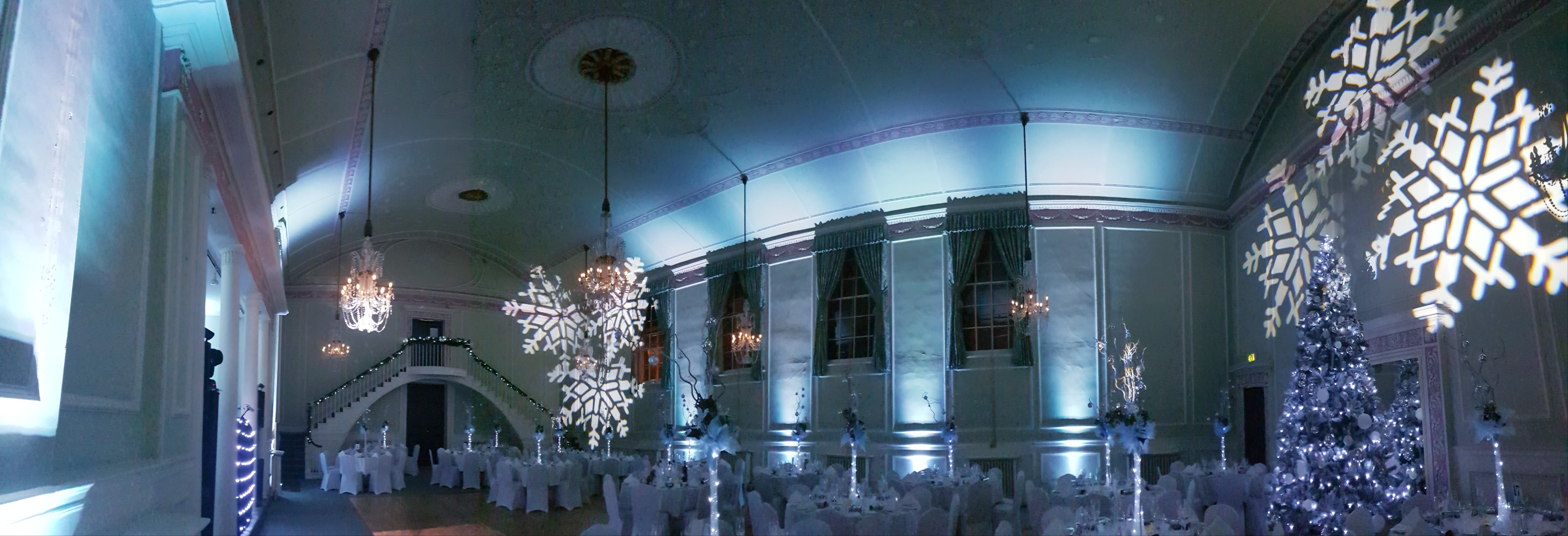 Mood Lighting at The Athenaeum