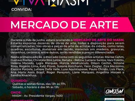 Projeto: VIVA MASM - MERCADO DE ARTE