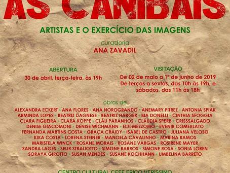 AS CANIBAIS: Simone Rosa participou da exposição coletiva no Centro de Cultura Erico Verissimo
