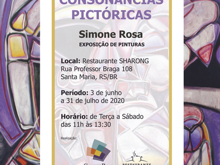 CONSONÂNCIAS PICTÓRICAS: obras abstratas para no restaurante Sharong