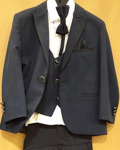 Lacivert Erkek Çocuk Takım Elbise (Smokin Takımı)
