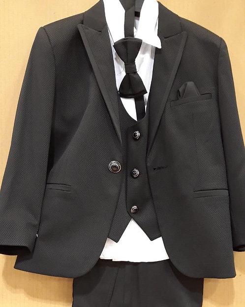 Siyah Erkek Çocuk Takım Elbise (Smokin Takımı)