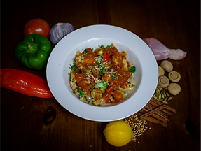 Pasta with Chicken Meatballs (creamy-red).png