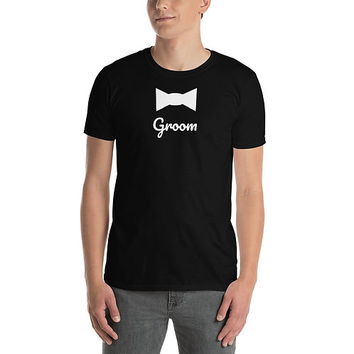 Groom Tie Short-Sleeve Unisex T-Shirt