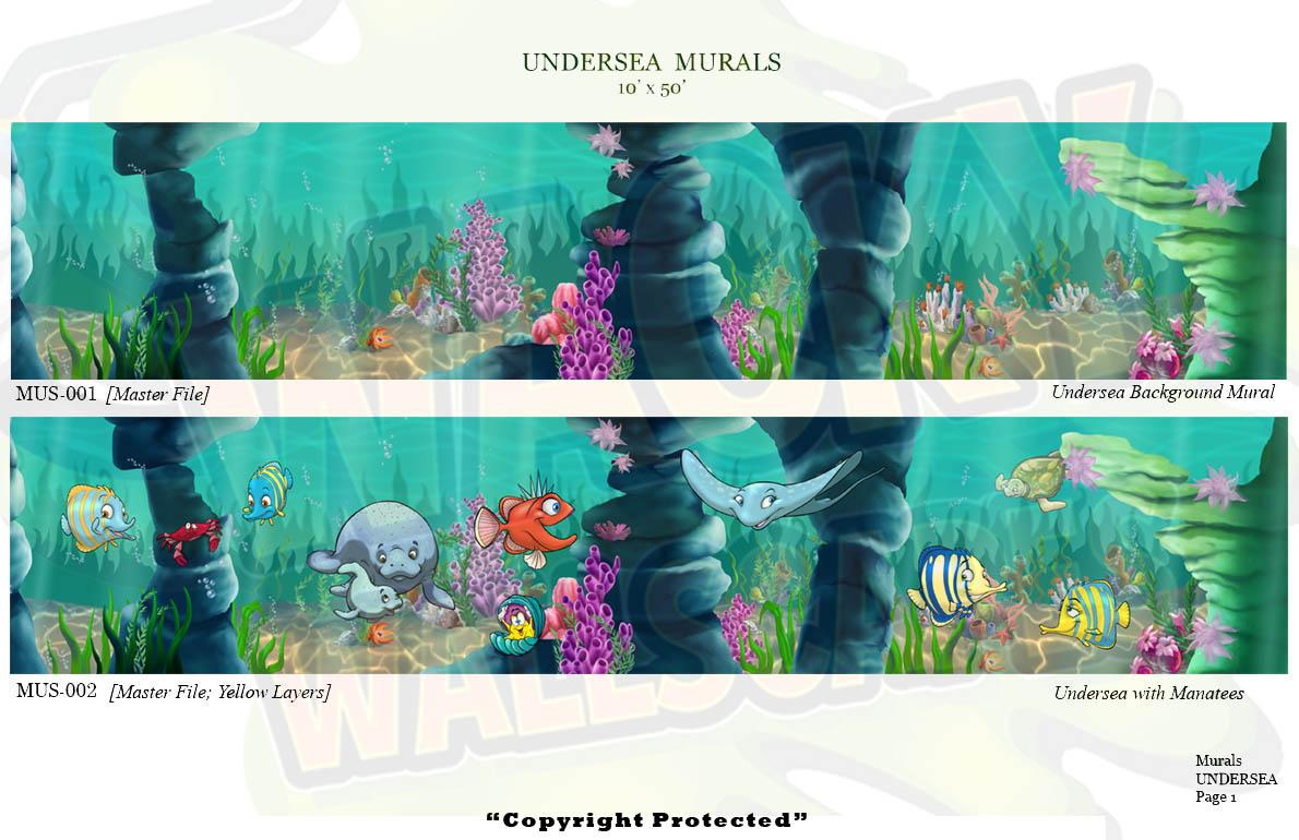 Undersea Murals 5