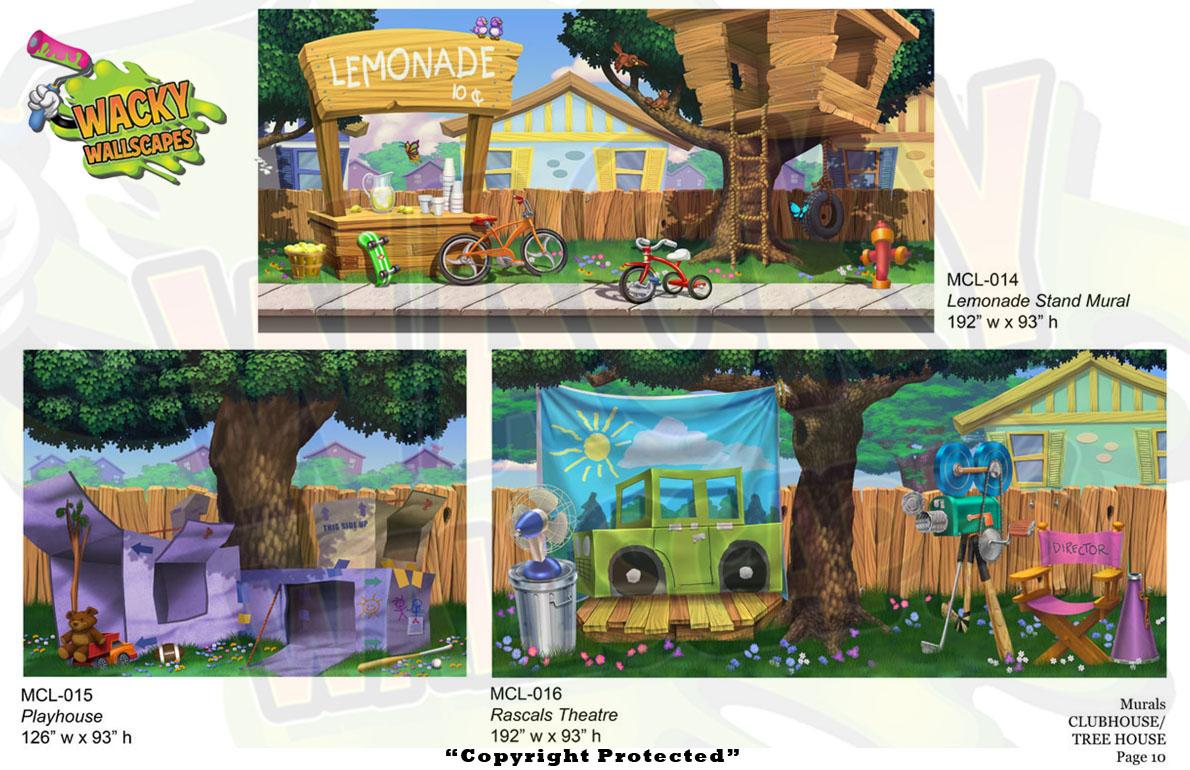 Club/Treehouse Murals 2