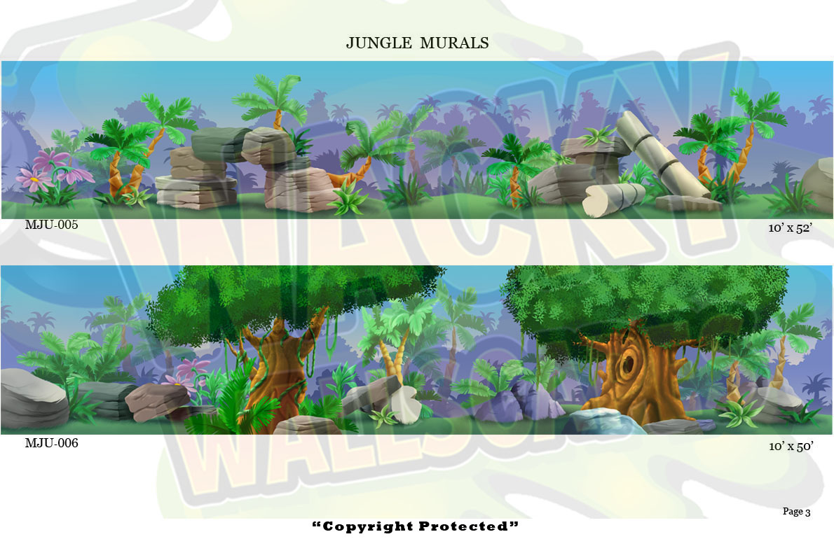 Jungle Murals 3