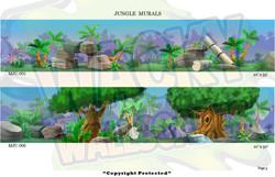 Jungle Murals 3