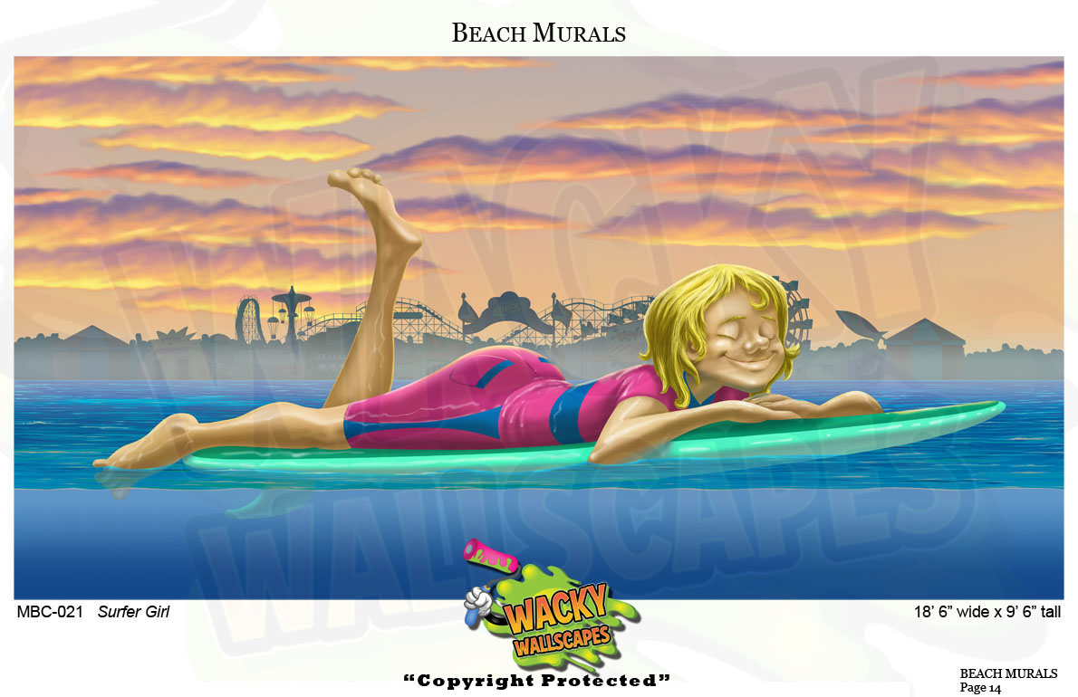 Beach Mural 6