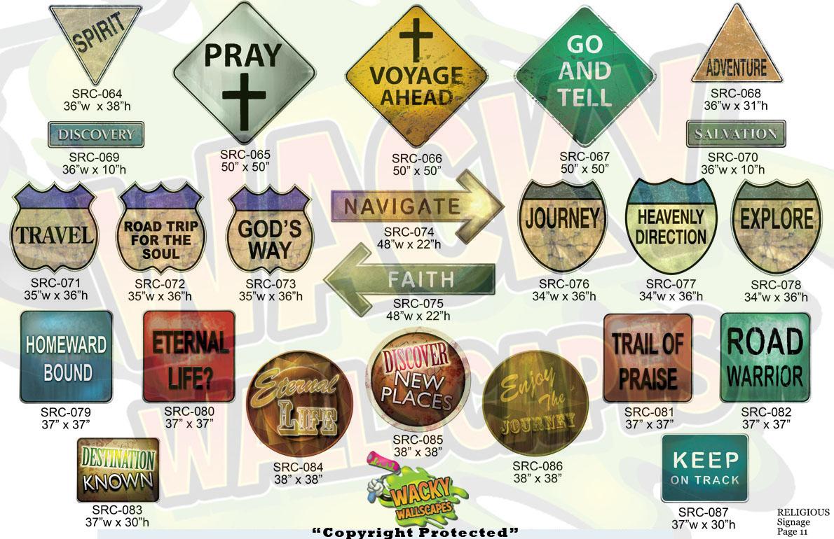 religious signage