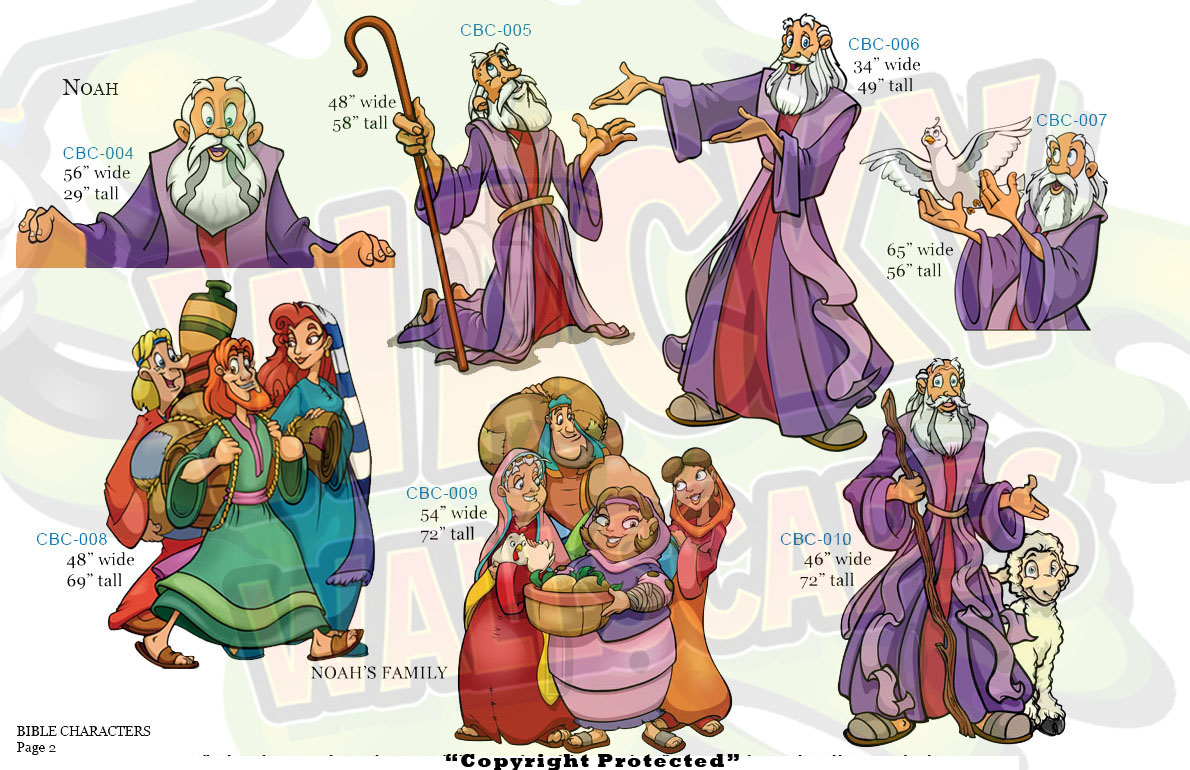 Bible Characters 3