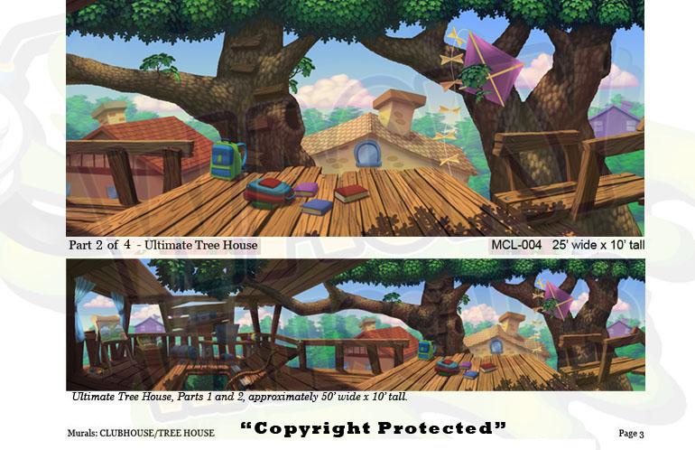 Club/Treehouse Murals 5