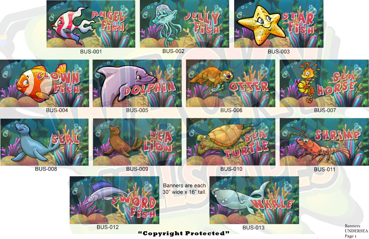 Undersea Banners 4