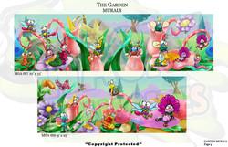 Garden Murals 4