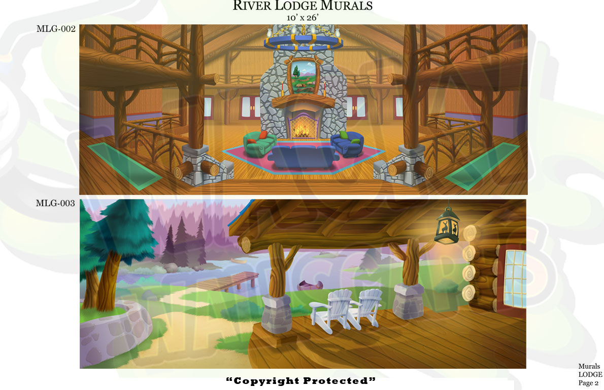 Lodge Murals 2