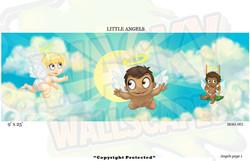 Baby  Angel Mural