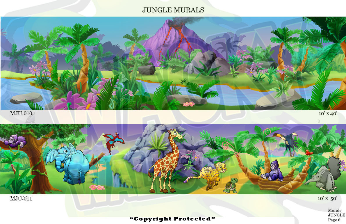 Jungle Murals 6