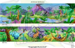 Jungle Murals 6