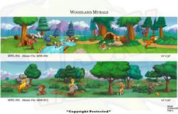 Woodland Mural 2