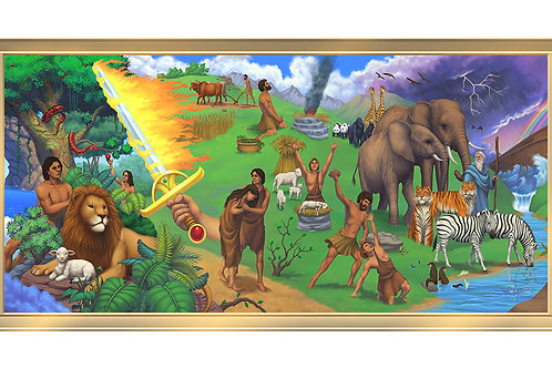 Creations 4 x 8 framed mural
